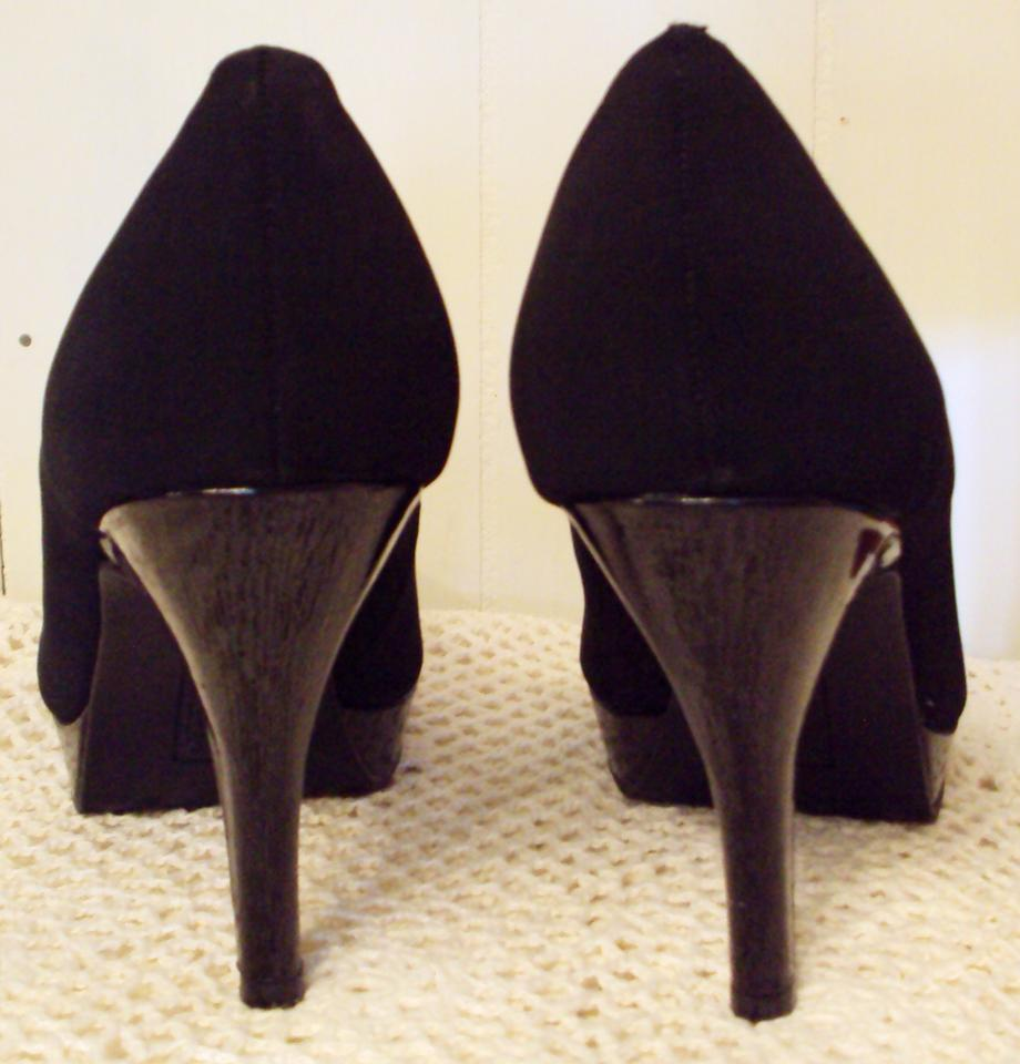 956dca6fd0bd Unlisted by Kenneth Cole Stiletto High Faux Suede Black Pumps Image 1. 12