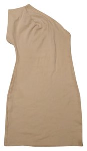 American Apparel short dress cream on Tradesy