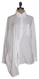 Ann Demeulemeester Button Down Shirt white