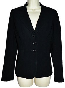 Ann Taylor Lined Jacket Classic Black Blazer