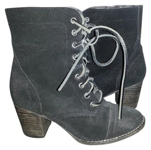 Steve Madden Suede Leather black Boots