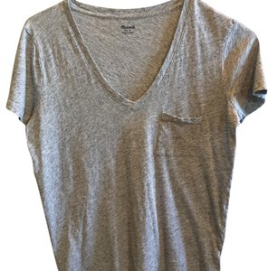 5 Madewell T-Shirts T Shirt Grey, emerald green, navy, fig, aqua blue