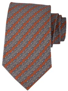 Gucci Gucci Men's 368245 Silk Andre Interlocking GG Chain Neck Tie