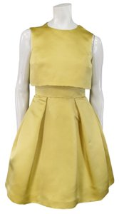 Dior Pleated Flared Sleeveless Dress