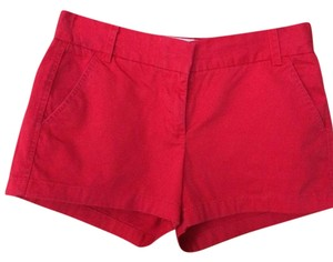 J.Crew Shorts red