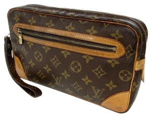 Louis Vuitton Neverfull Speedy Alma Artsy Brown Clutch