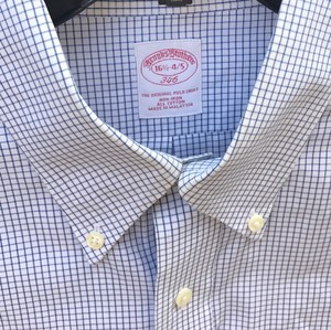 Brooks Brothers Brooks Brothers All Cotton Non-iron 346 Dress Shirt
