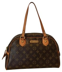 Louis Vuitton Classic Louis Sachet Handbag Tote in Brown