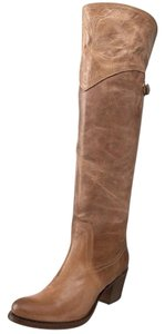 Frye Tan Burnished Antique Leather (77594) Boots