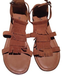 Minnetonka Brown Sandals
