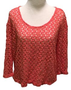 Urban Outfitters Top Coral