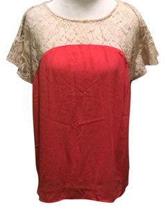 Maeve Top Coral