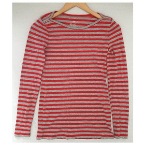 J.Crew T Shirt Red, Gray