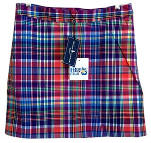 Ralph Lauren Size 4 New With Tags Skort Plaid
