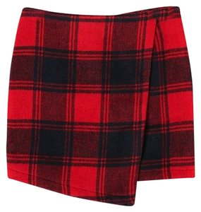 Choies Mini Skirt Red/Black