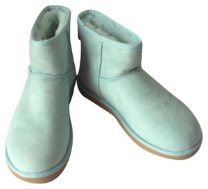 UGG Australia Nwt New With Tags Shearling Pale Blue/Green Boots