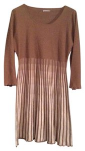 Calvin Klein short dress Beige/brown on Tradesy