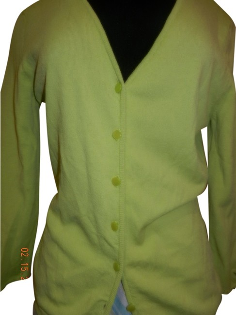 Preload https://item4.tradesy.com/images/ann-taylor-yellow-sleeves-small-p-cardigan-size-petite-6-s-1991848-0-0.jpg?width=400&height=650