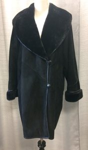 Great Condition Shearling Trench Coat