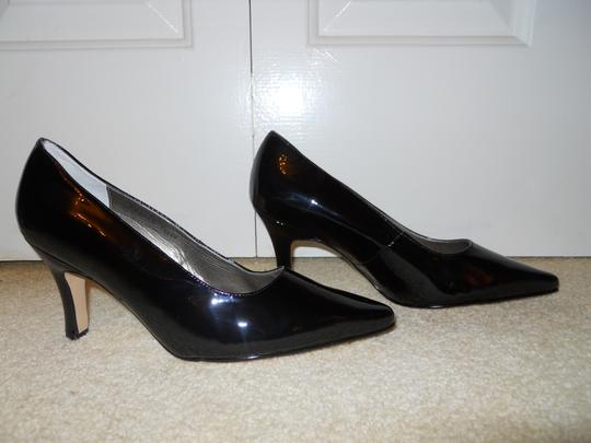 Fitzwell Leather Mbc black Pumps