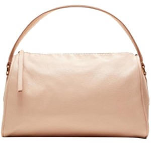 Banana Republic Leather Satchel in Blush