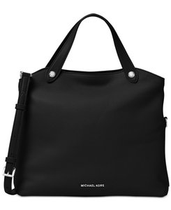 Michael Kors Satchel in Black/Silver
