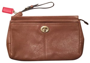 Coach Britsh Tan Clutch