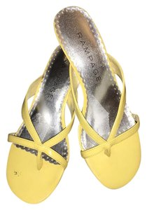 Rampage Yellow Pumps