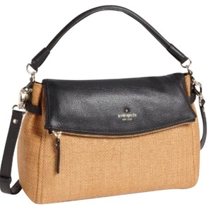 Kate Spade Satchel in Black And Tan