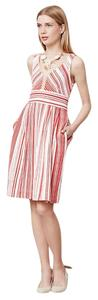 Postmark short dress Red and white striped Retro Poppy on Tradesy