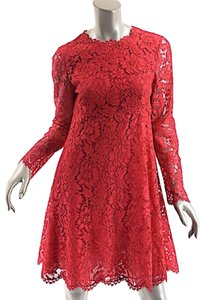 Valentino L'amour Cotton Lace Dress