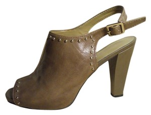 Franco Sarto Leather Mbc taupe Pumps