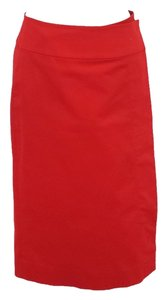 Donna Karan Skirt Red