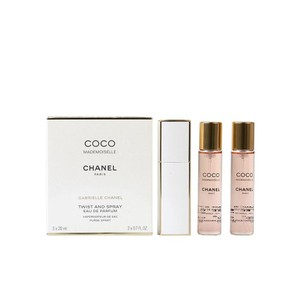 Chanel Chanel COCO Mademoiselle Twist and Spray 3 X 0.7 FL.OZ