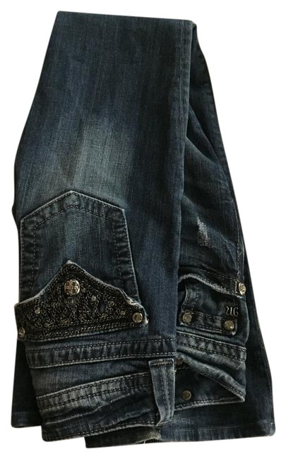 Miss Me Boot Cut Jeans- chic
