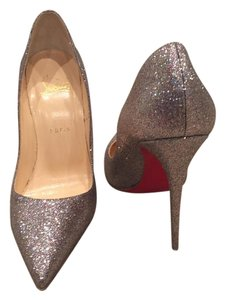 Christian Louboutin Silver/Gold (Grenadine) Pumps