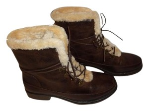 Bare Traps Short Boot Faux Leather brown Boots