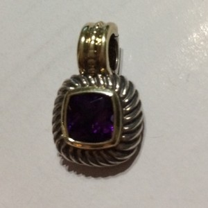 David Yurman Yurman Enhancer Deep Purple Gemstone