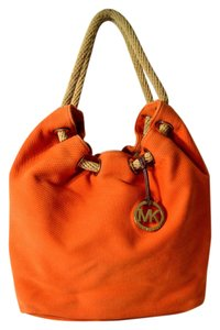 Michael Kors Vintage Leather Tan Shoulder Bag