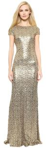 Badgley Mischka Gown Sequin Dress