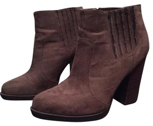 Zara Asos Forever 21 Taupe Boots