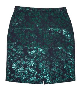J.Crew Brocade Floral Pencil Skirt