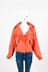 Jil Sander Burnt Silk Orange Jacket