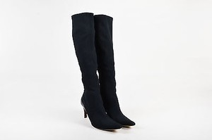 Gucci Tall Heeled Black Boots