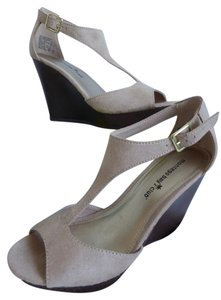 Montego Bay Club Nude Wedges
