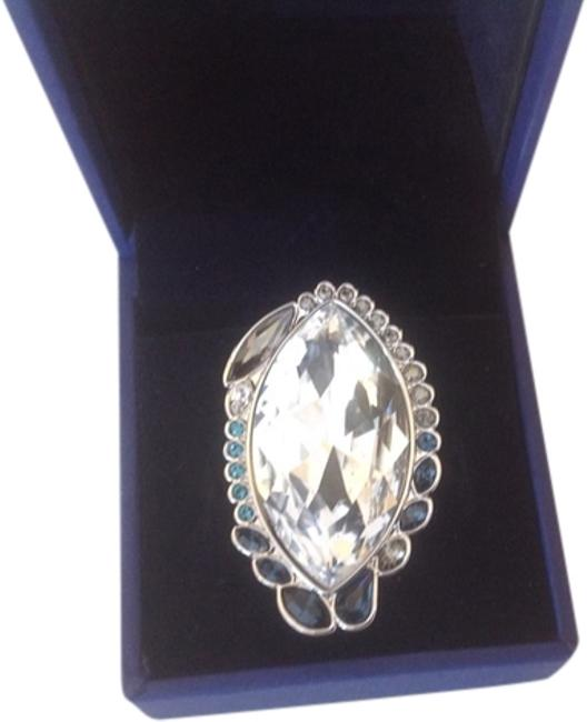 Item - Clear Genuine Crystal Size 7 Ring
