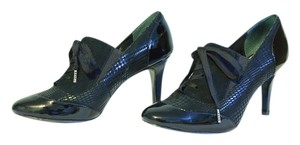 Alfani Laces Patent Leather Suede black Pumps