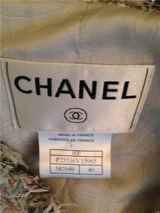 Chanel Chanel Boutique Tweed pink and greySkirt Suit