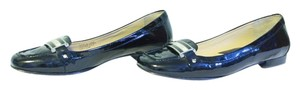 Michael Kors Patent Leather Slip On black Flats