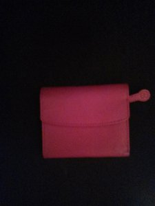 Buxton Buxton Red Leather Folding Wallet